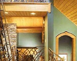 Brays Island Hunting Lodge, SC Upstairs Marsh grass Railings