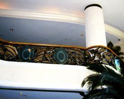 Loews Miami South Beach Main Lobby second floor Balcony Railing