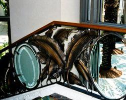 Loews Miami South Beach Main Lobby Stairway Railing