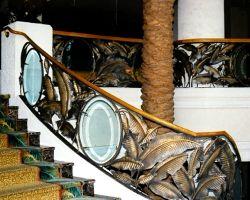 Loews Miami South Beach Hotel Main Lobby Stairway Railing