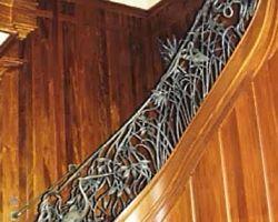 Sea Pines Hilton Head Island, SC Private Residence Grand Staircase Railing