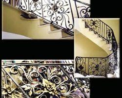 Amelia Island, FL Private Residence Grand Staircase Railing
