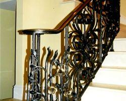 Amelia Island, FL Private Residence Grand Staircase Railing Newel