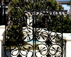 Toscana Mare Villa at Hilton Head Island, SC Pool Gates