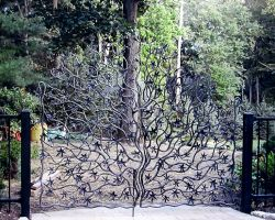 Japanese Maple Tree Driveway Gates